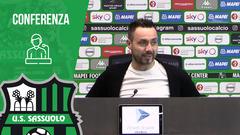 Mister De Zerbi in vista di Sassuolo-Napoli