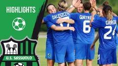 Gli highlights di Sassuolo-Roma femminile 3-2