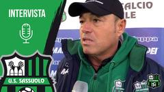 Mister Piovani e Sandy Iannella dopo Roma-Sassuolo