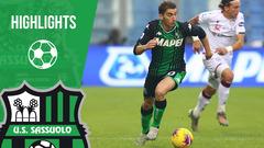 Sassuolo-Cagliari 2-2 Highlights