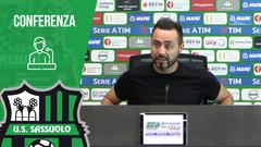 Mister De Zerbi alla vigilia di Sassuolo-Sampdoria