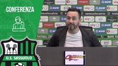 Mister De Zerbi in vista di Sassuolo-Perugia
