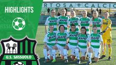 Coppa Italia Femminile | Roma-Sassuolo 0-5 | Highlights