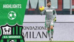 Milan-Sassuolo 0-0 Highlights