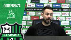 Mister De Zerbi alla vigilia di Sassuolo-Torino