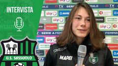 Femminile | Mister Piovani e Sofieke Jansen dopo Sassuolo-Roma