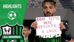 Sassuolo-Brescia 3-0 Highlights