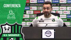 Mister De Zerbi prima di Brescia-Sassuolo