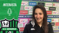 Femminile | Claudia Ferrato dopo Sassuolo-Hellas Verona