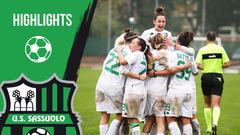 Gli highlights di Sassuolo-Hellas Verona Femminile 4-1