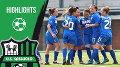 Gli highlights di Florentia-Sassuolo Femminile 1-1