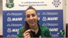 Le interviste dopo Verona-Sassuolo Femminile