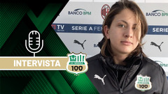 Coppa Italia Femminile | Mister Piovani ed Erika Santoro dopo Milan-Sassuolo