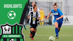 Gli highlights di Juventus-Sassuolo Femminile 4-0