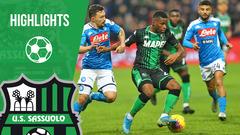 Sassuolo-Napoli 1-2 Highlights