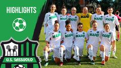 Gli highlights di Sassuolo-Atalanta Femminile 0-0