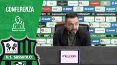 Mister De Zerbi prima di Parma-Sassuolo