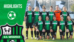Serie A Femminile | Juventus-Sassuolo 2-1| Highlights