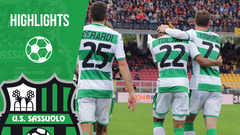 Lecce-Sassuolo 2-2 Highlights
