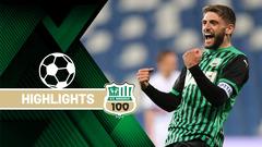 Sassuolo-Sampdoria 1-0 Highlights