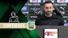 Mister De Zerbi prima di Genoa-Sassuolo