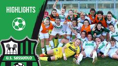 Gli highlights di Sassuolo-Juventus Femminile 2-1