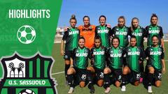 Serie A Femminile: Pink Bari-Sassuolo 3-3 Highlights