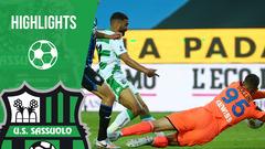 Atalanta-Sassuolo 4-1 Highlights