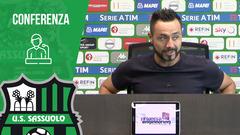 Mister De Zerbi alla vigilia di Torino-Sassuolo