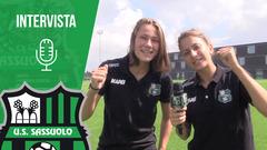 Sassuolo femminile, intervista a Sofieke Jansen ed Erika Santoro