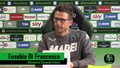 Mister Di Francesco prima di Bologna-Sassuolo