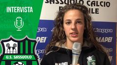 Femminile | Mister Piovani e Martina Tomaselli dopo Fiorentina-Sassuolo