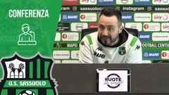 Mister De Zerbi prima di Udinese-Sassuolo