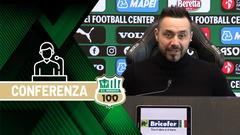 Coppa Italia | Mister De Zerbi prima di Sassuolo-Spal