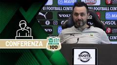 Mister De Zerbi prima di Torino-Sassuolo