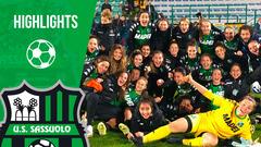 Serie A Femminile | Sassuolo-Florentia 3-0 | Highlights