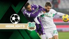 Fiorentina-Sassuolo 1-1 Highlights