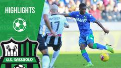 Udinese-Sassuolo 3-0 Highlights