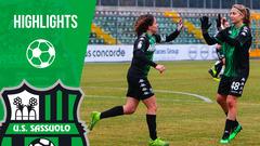 Serie A Femminile | Sassuolo-Pink Bari 2-0 | Highlights