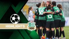Serie A Femminile | Sassuolo-Hellas Verona 4-1