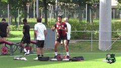 Sassuolo in campo al Mapei Football Center