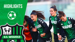 Serie A Femminile | Sassuolo-Hellas Verona 4-1 | Highlights