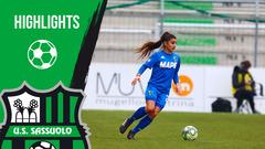 Gli highlights di Fiorentina-Sassuolo Femminile