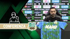 Mister De Zerbi alla vigilia di Sassuolo-Udinese