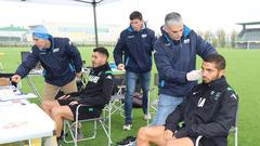 I test Mapei per il Sassuolo Calcio