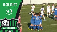 Gli highlights di Tavagnacco-Sassuolo Femminile 1-1