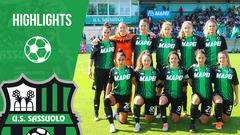 Serie A Femminile | Sassuolo-Juventus 1-3 | Highlights