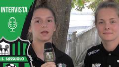Sassuolo Femminile, le interviste a Nicole Lauria e Diede Lemey