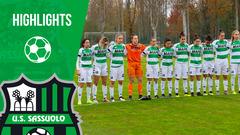 Serie A Femminile | Milan-Sassuolo 1-0 | Highlights