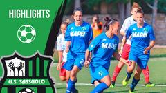 Gli highlights di Pink Bari-Sassuolo Femminile 0-4